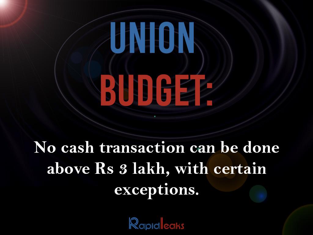 Union Budget