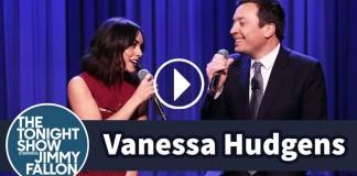 Vanessa Hudgens and Jimmy Fallon
