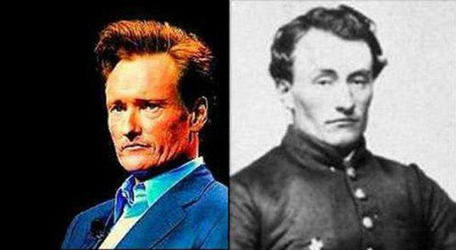 Conan O'Brien and Marshall Henry Twitchell.