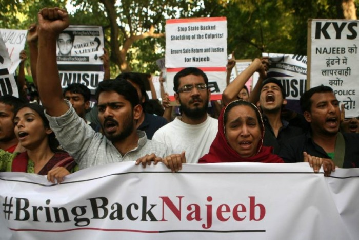 Missing JNU Student Case