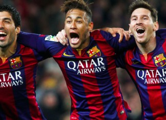 messi, saurez and neymar