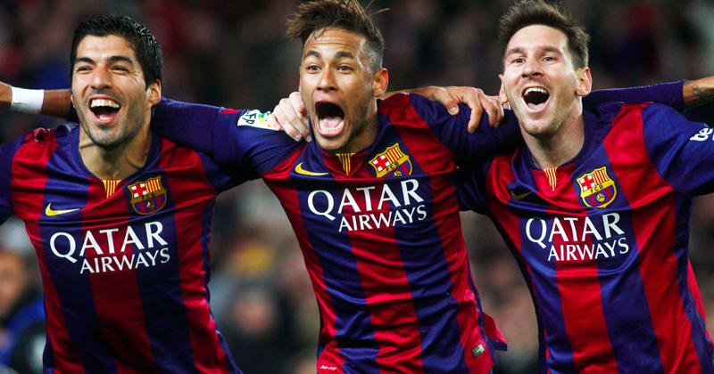 messi, saurez and neymar