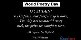 """Celebrate """"World Poetry Day"""" With These 12 Excerpts By Genius Poets"""