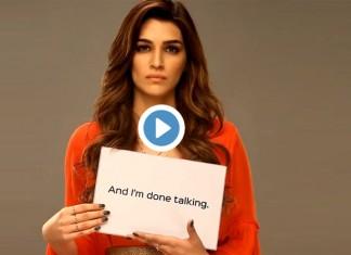 Kriti Sanon on women's day
