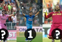 rohit sharma, gayle and ab de villiers