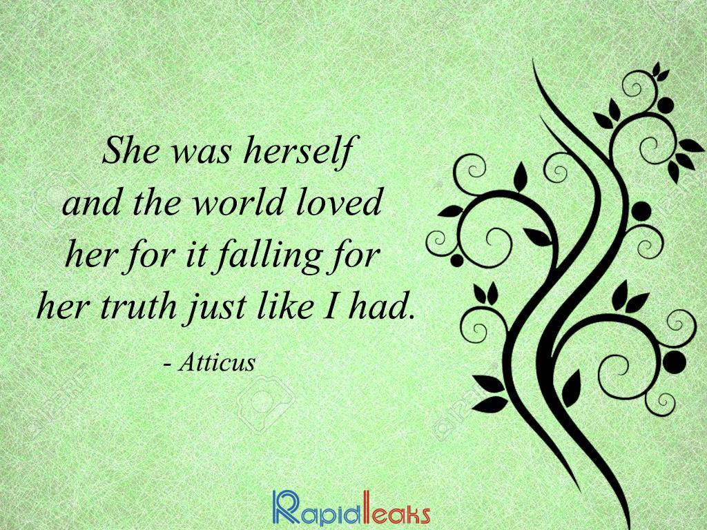 Quotes By Atticus