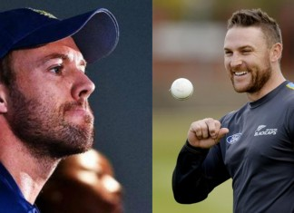 AB de Villiers and Brendon Mccullum