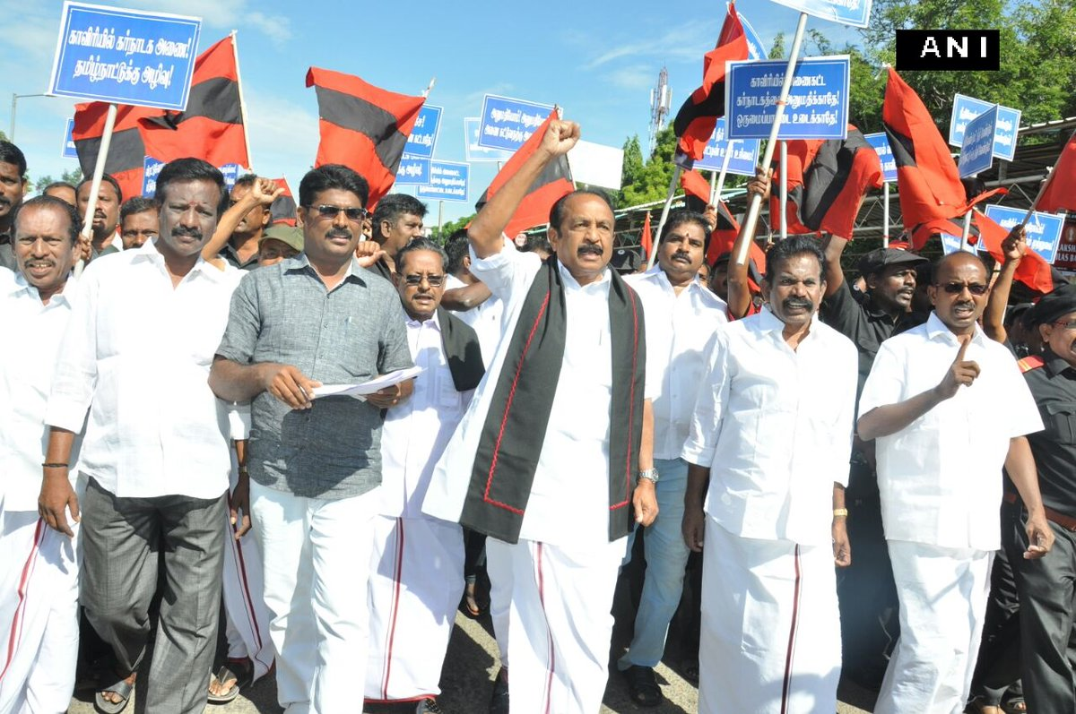 DMK's MK Stalin Arrested Amid Shutdown in Tamil Nadu