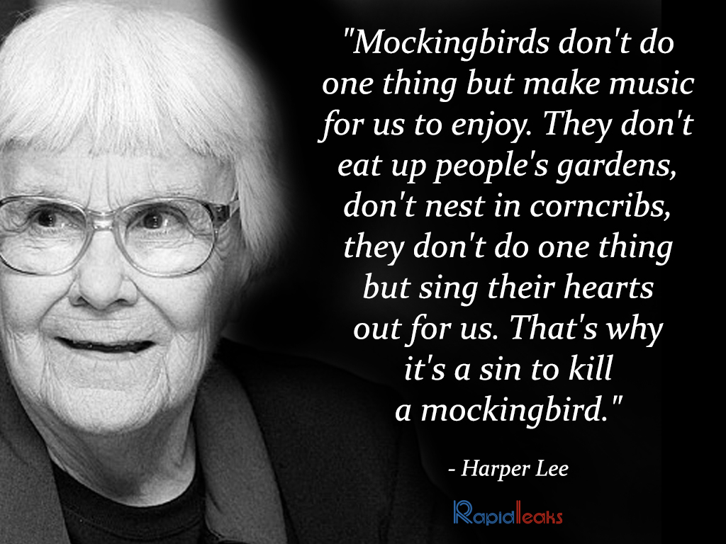 Harper Lee Quotes 10