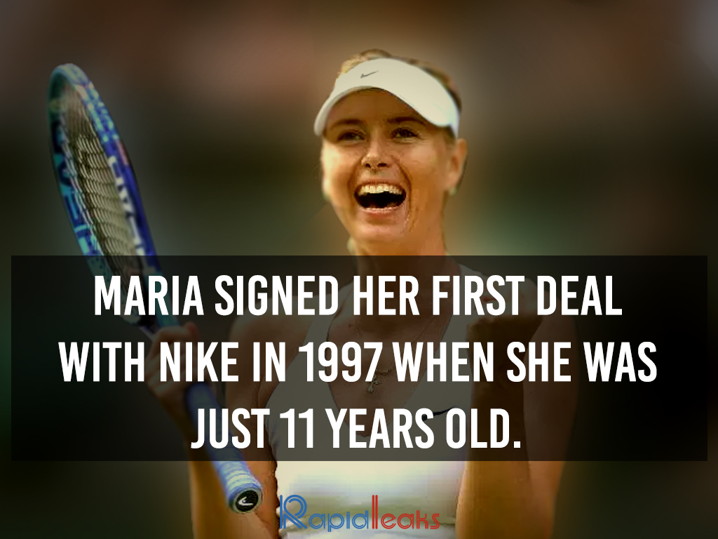 Maria Sharapova Interesting Facts 1