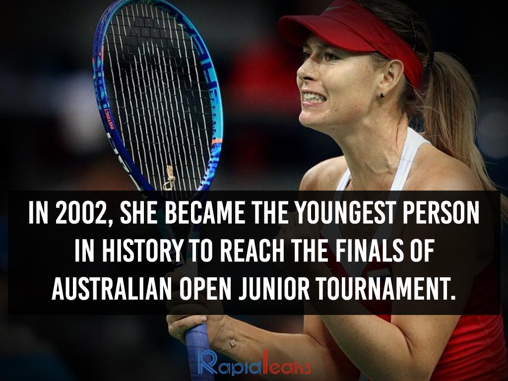 Maria Sharapova Interesting Facts 10