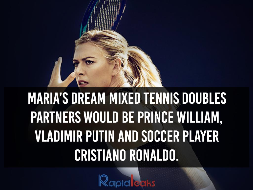Maria Sharapova Interesting Facts 2