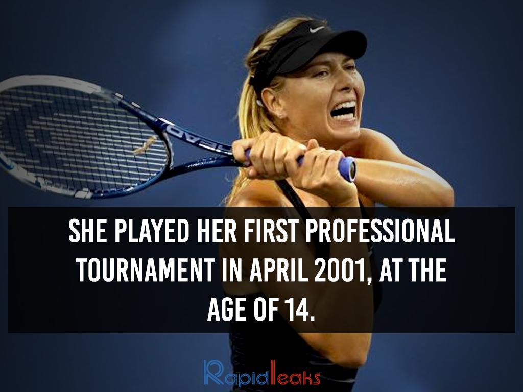 Maria Sharapova Interesting Facts 3