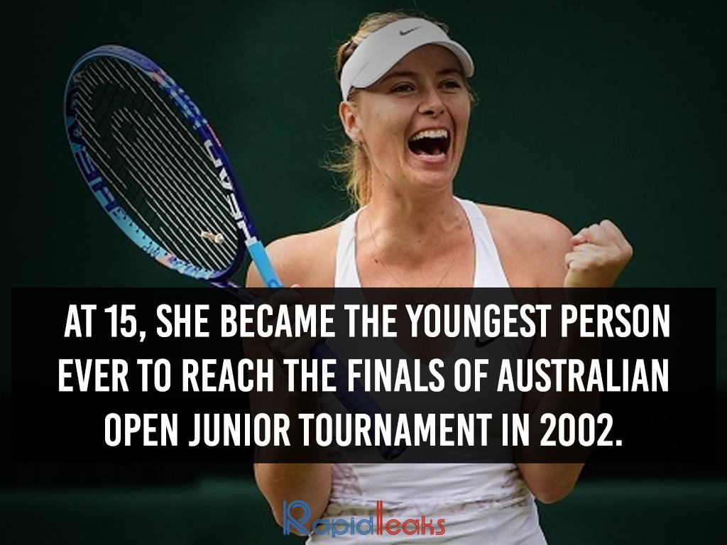 Maria Sharapova Interesting Facts 4