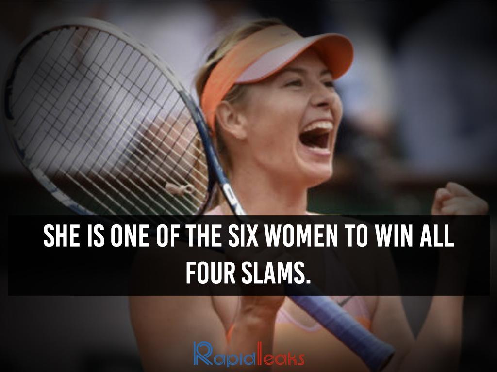 Maria Sharapova Interesting Facts 6