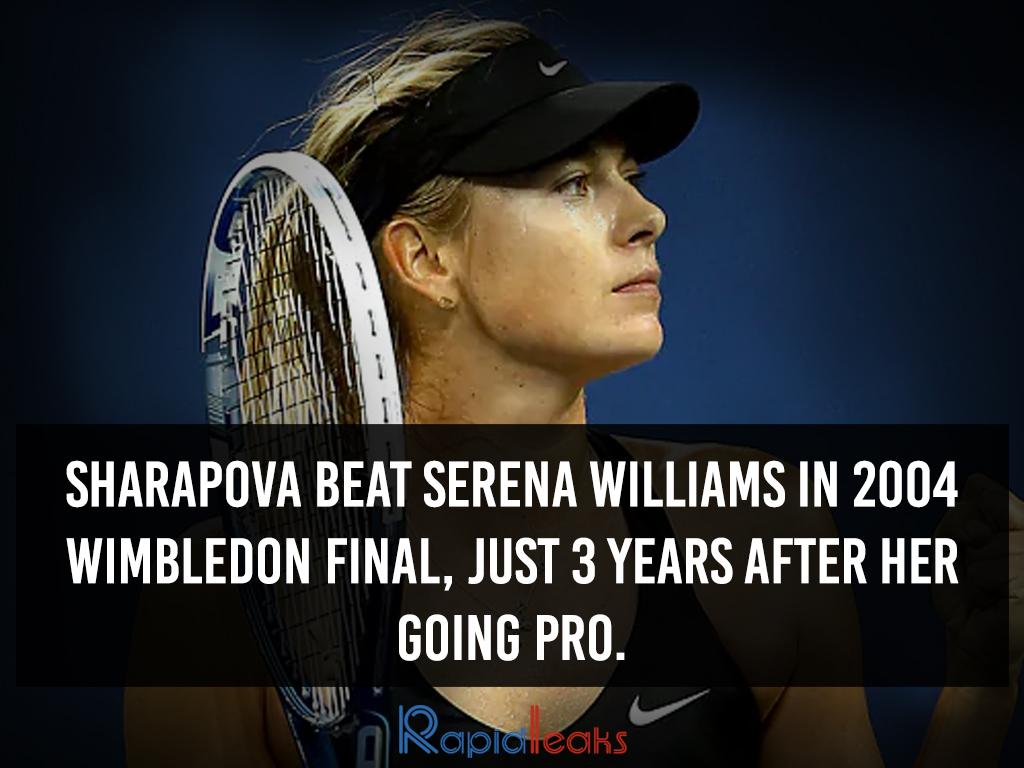 Maria Sharapova Interesting Facts 7