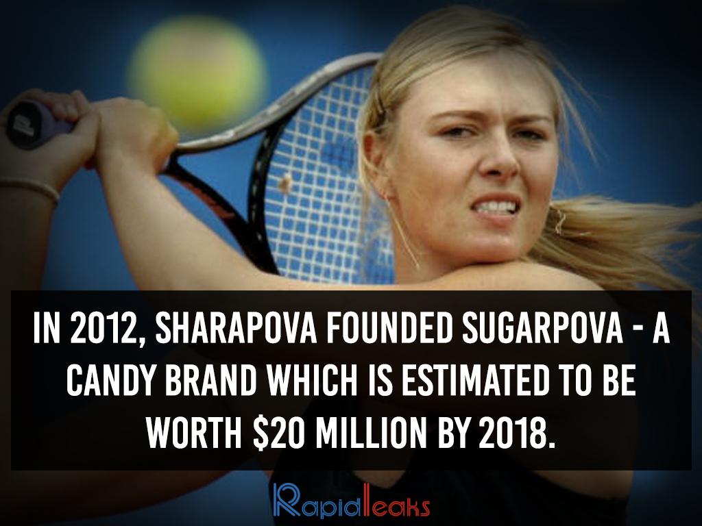 Maria Sharapova Interesting Facts 8