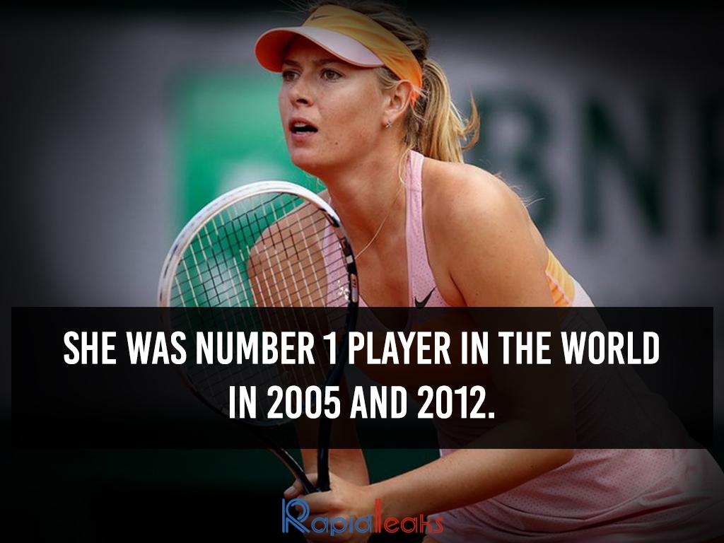 Maria Sharapova Interesting Facts 9