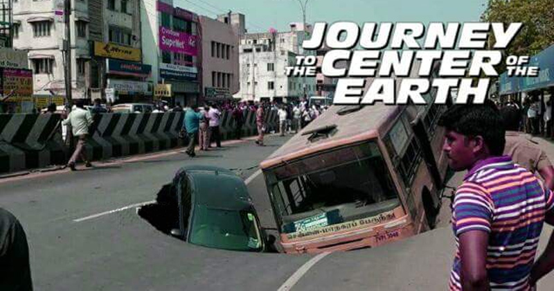 Chennai Road Incident