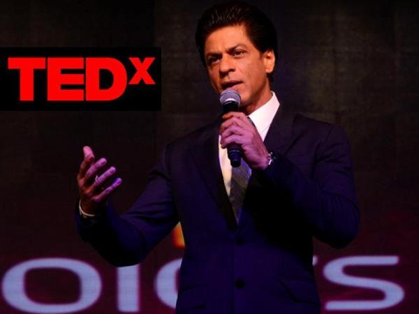Shah Rukh Khan's First TED Talk Presents The Badshah In The
