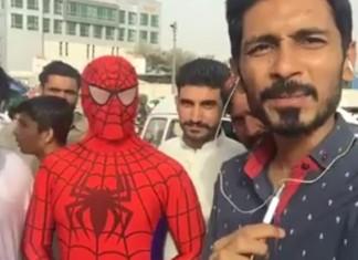 Pakistani Journalist Interviewed Spider-Man