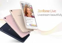 Asus ZenFone BeautyLive