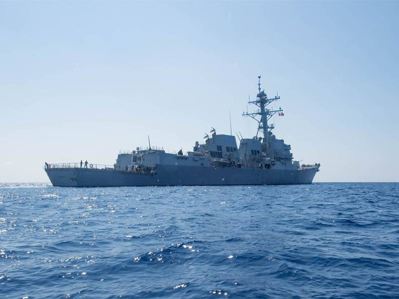 China Launches Protest After US Warship Entered South China Sea