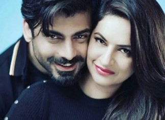 Fawad Khan And His Wife