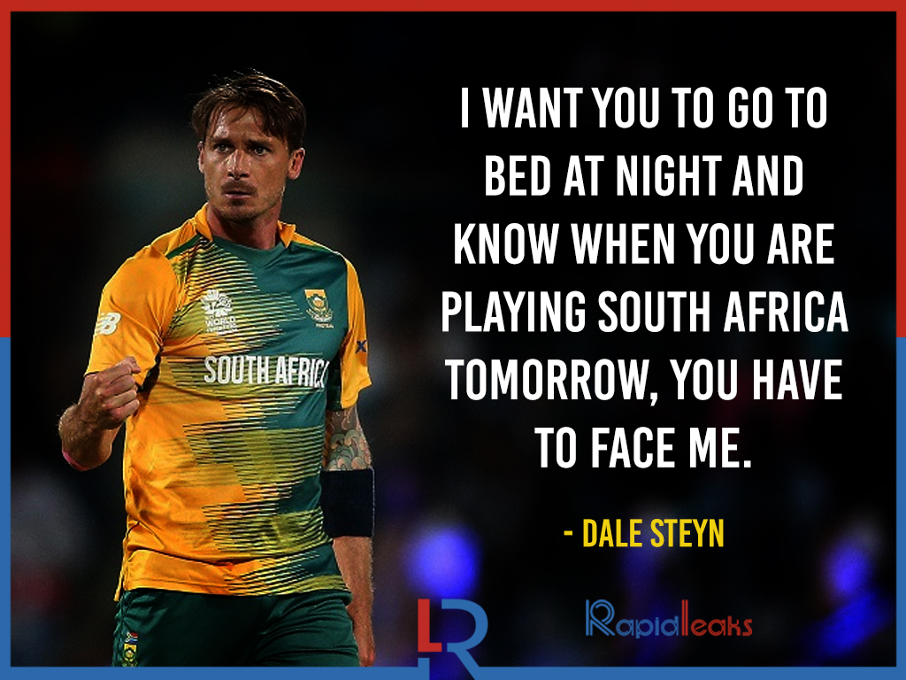 Dale Steyn Quotes  4