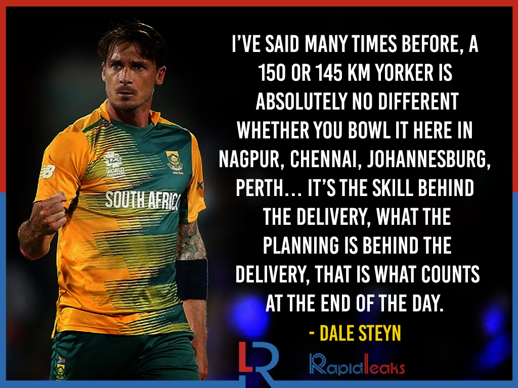 Dale Steyn Quotes  5