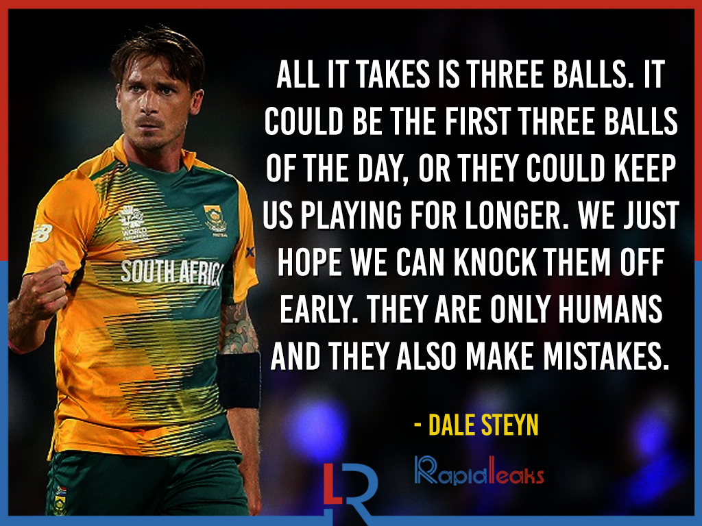 Dale Steyn Quotes 8