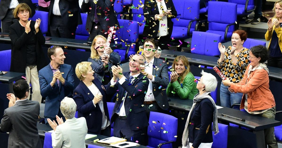 Germany Legalises Same-Sex Marriage