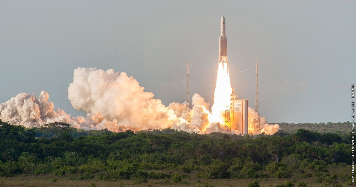 India's Communication Satellite GSAT-17 Launched From French Guiana