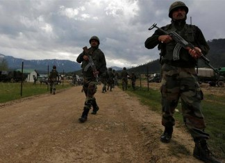 Indian And Pakistani Forces Trade Fire On LoC, Two Militants Killed in Sopore