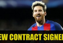 Lionel Messi Contract