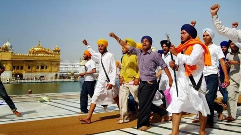 Pro-Khalistan Slogans Raised At Golden Temple.