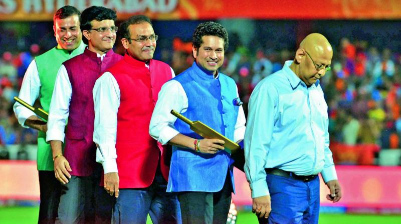 ehwag, Sachin Tendulkar, Sourav Ganguly