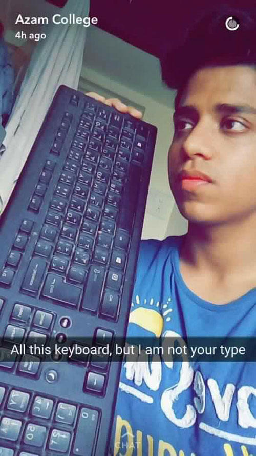 Brace Yourself, This Guy's Snapchat Stories Will Make You Forget Your Break Up!