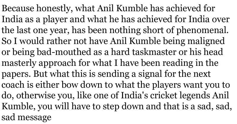 Sunil Gavaskar on Anil Kumble 2 (1)