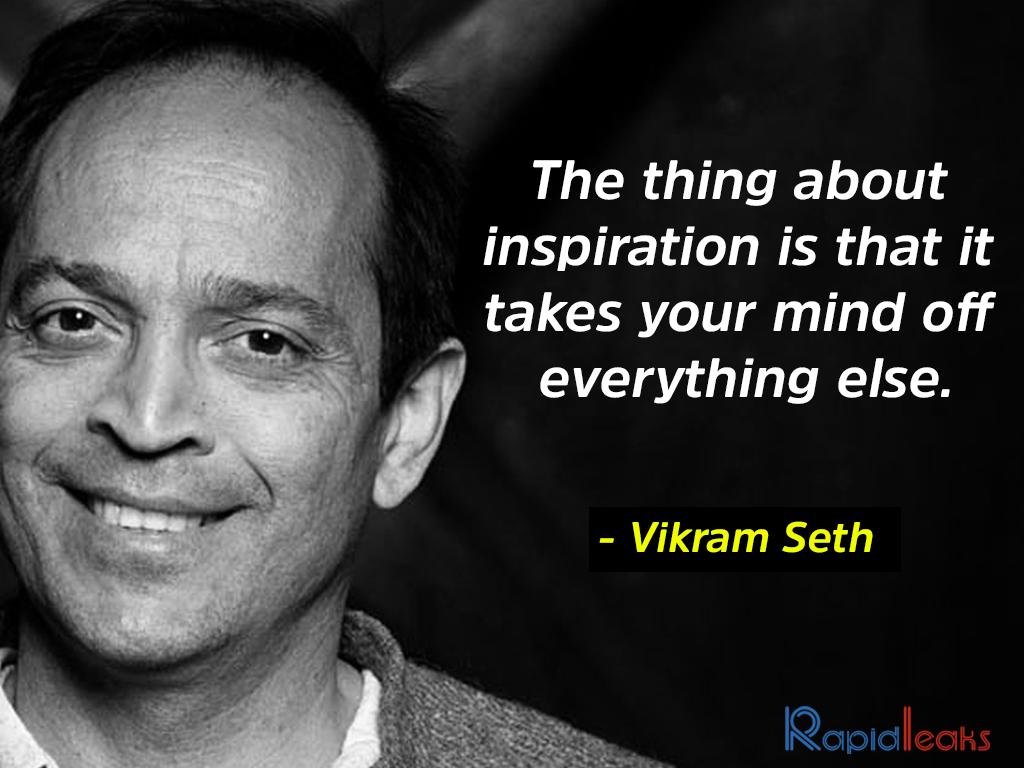 Vikram Seth 3