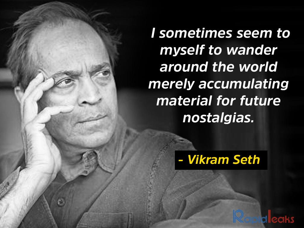 Vikram Seth 4