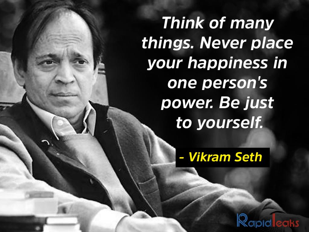 Vikram Seth 5