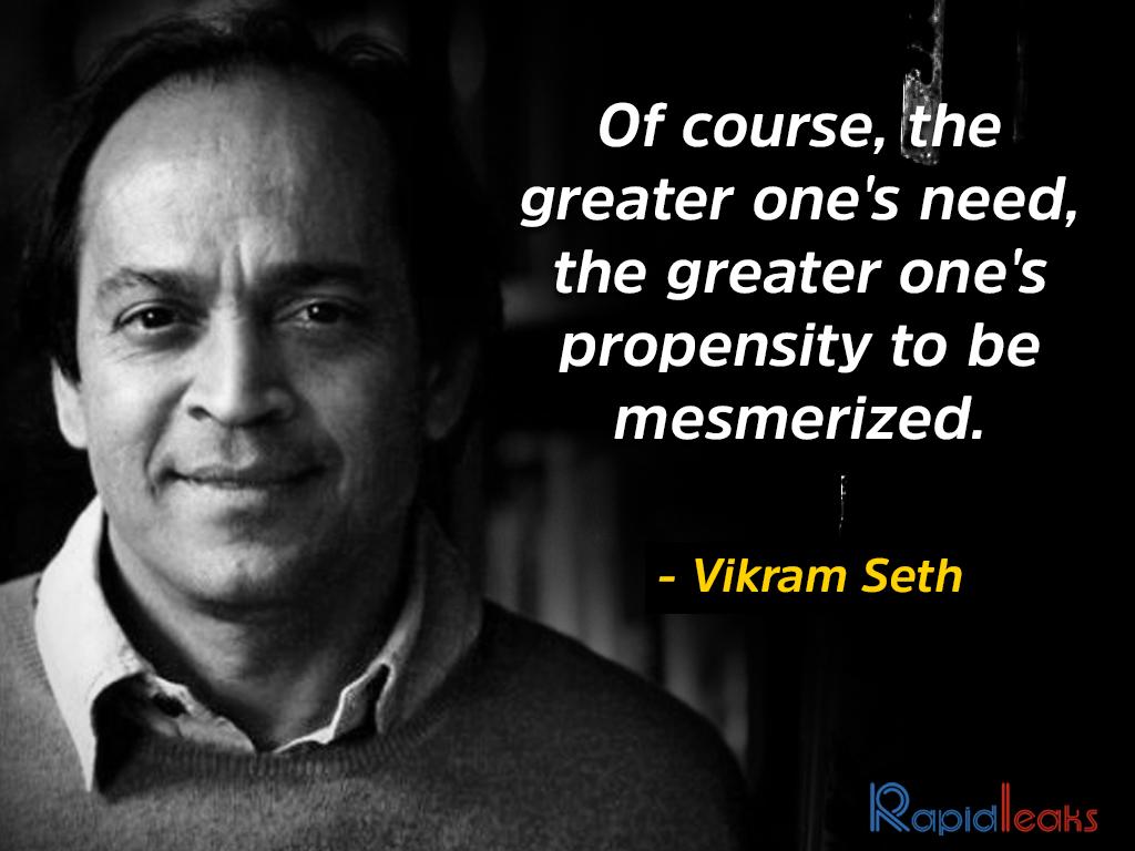 Vikram Seth 6