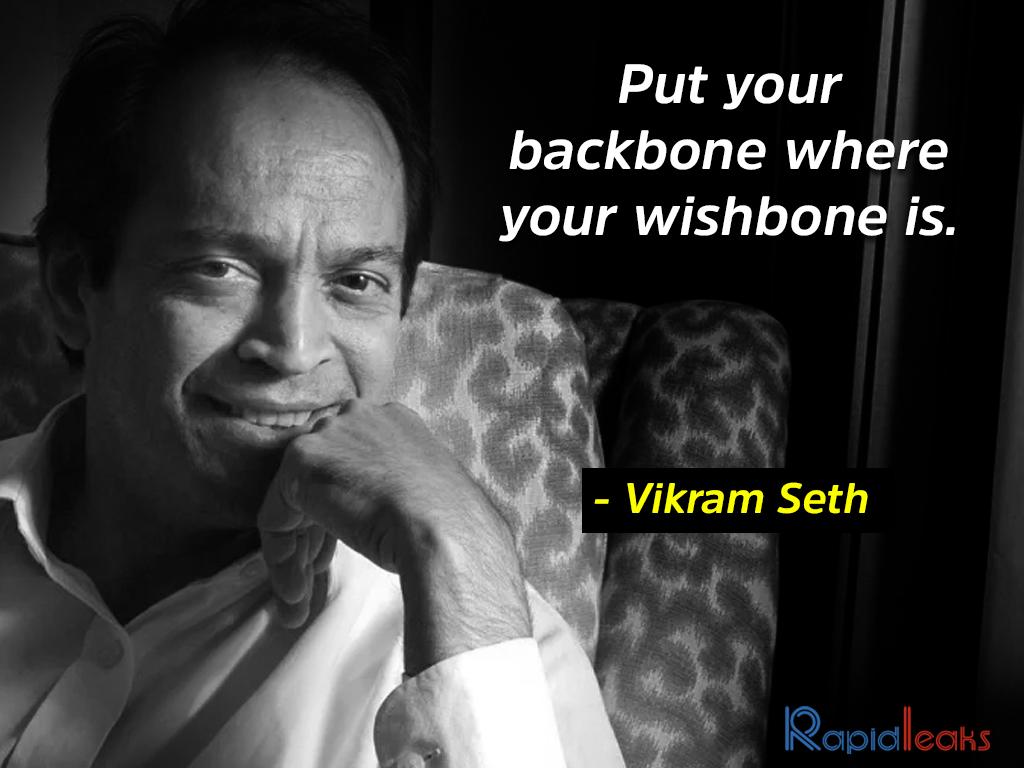 Vikram Seth 9