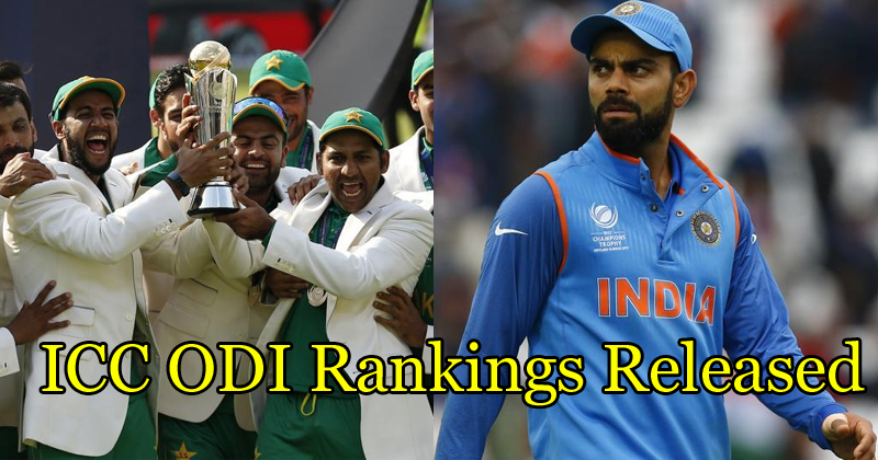 ICC ODI Rankings