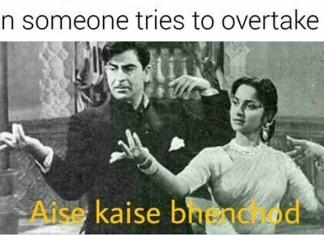 Aise-Kaise-Bh**ch*d Memes