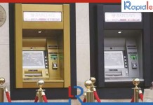 First ATM Machine