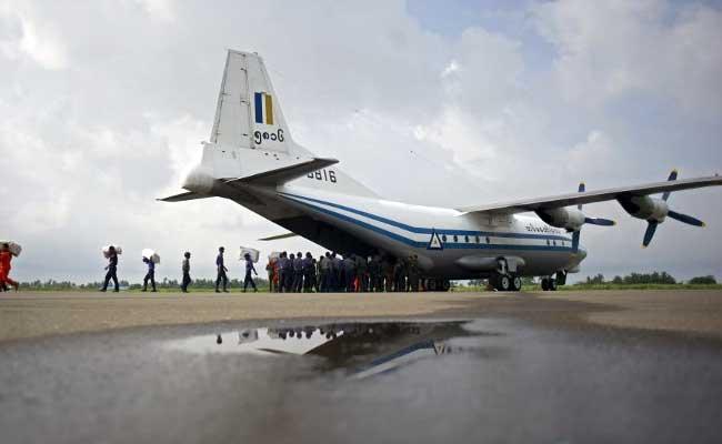 Myanmar Army Plane