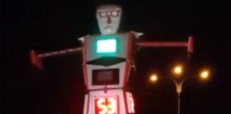 Robot Controlled Traffic In Indore