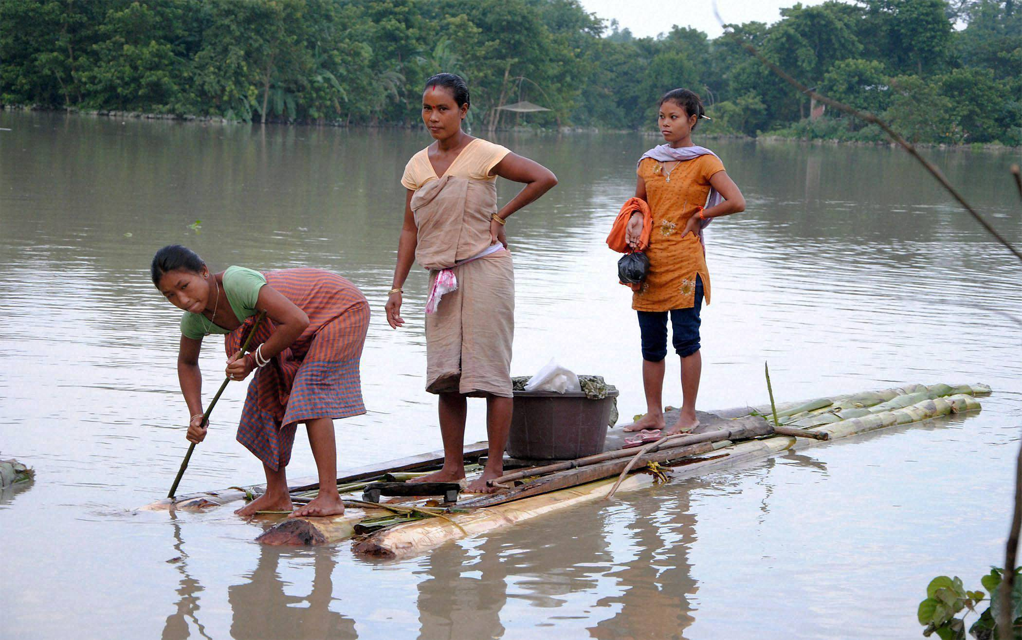 Assam Flood: Nearly 400,000 People Affected